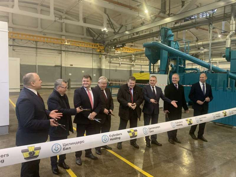 CYLINDERS HOLDING opened a new production plant in Belarus